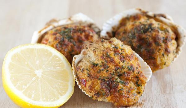 Cuisinés de fruits de mer en coquilles Bio